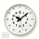 Lemnos fun pun clock M レムノス フンプンクロック YD14-08M 掛時計/掛け時計/かけ時計/壁掛け/北欧/おしゃれ/デザイン時計/インテリア時計