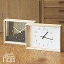 【OFFクーポンあり!】【ポイント最大16倍!】Lemnos KAEDE レムノス カエデ NY14-02 [置時計/置き時計/おき時計/デザイン時計/かけ時計/壁掛け時計/北欧/インテリア時計]