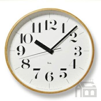 【OFFクーポンあり】【ポイント最大16倍!】Lemnos Riki Clock レムノス リキ クロック RC WR08-27 WH 電波時計 [掛け時計/かけ時計]