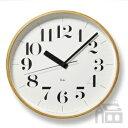 RoomClip商品情報 - Lemnos Riki Clock レムノス リキ クロック RC WR08-27 WH 電波時計 掛け時計/かけ時計