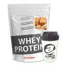 アルプロン WPC ホエイプロテイン キャラメル 1kg(約50食)   正規品 ALPRON プロテイン whey たんぱく質 筋トレ ダイエット プロテインダイエット 女性 男性 おいしい