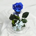 送料無料!プリザーブドフラワー ステム付「青いバラ」〜Felice rosa blu〜枯れないお花 ケースあり ブリザーブド ブルーローズ 枯れない花 ブルー 青バラ 青 薔薇 一輪 フラワーギフト 誕生日プレゼント 贈り物 お祝い 花 出産祝い おしゃれ かわいい【YDKG】【SMTB】
