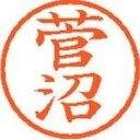 【取寄品】シヤチハタ ネーム6既製 XL-6 1313 菅沼