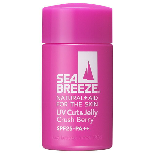 シーブリーズ UVカット&ジェリー クラッシュベリーの香り SPF25 PA++ 60ml