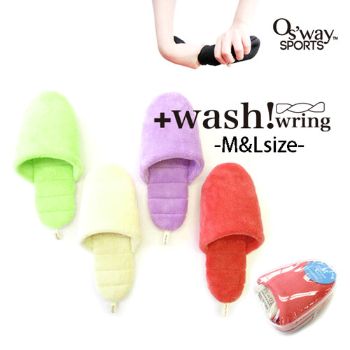 スリッパ +wash