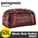 Patagonia パタゴニア 49341 ブラックホールダッフル 60L Black Hole Duffel シンダーレッド