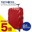 サムソナイト ライトロックト スーツケース 81cm レッド Samsonite Lite-Locked Spinner