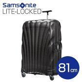 サムソナイト ライトロックト スーツケース 81cm ブラック Samsonite Lite-Locked Spinner