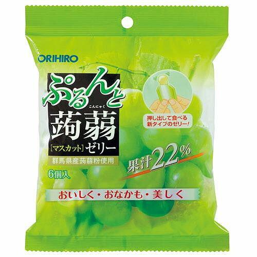 ぷるんと蒟蒻ゼリー新パウチ マスカットの商品画像