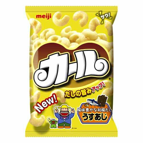明治製菓 カール うすあじ 68g【お1人様2袋まで】