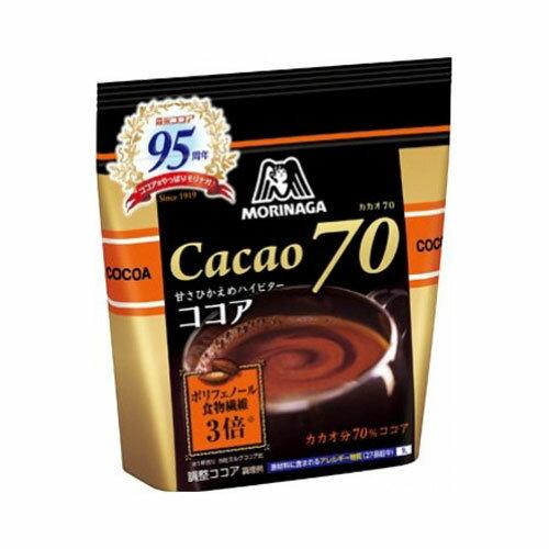 森永ココアカカオ70200g