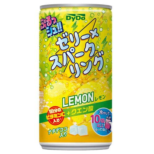 ダイドー ぷるッシュ!ゼリー×スパークリング レモン 185g