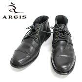 ■ ARGIS アルジス 12103 チャッカブーツ 本革 革靴 メンズ レザーシューズ 外羽根 ストレートチップ 黒・灰・茶= 送料無料 =【日本製】 【RCP】 P01Jul16