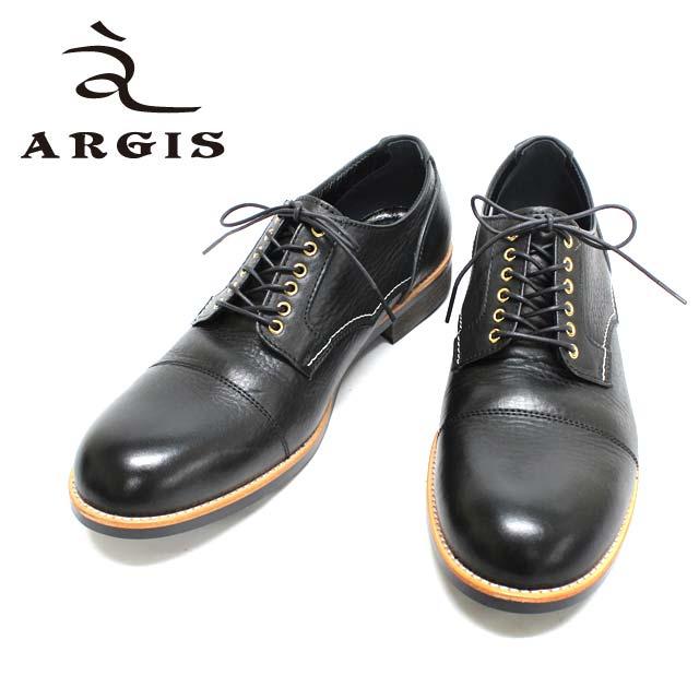 ■■ ARGIS アルジス 71140 3色 外羽根 ストレートチップ ハトメ 短靴 本革 革靴 黒 茶 ブラック ブラウン メンズ   【送料無料 日本製】  10P05Nov16