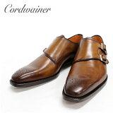 ◆ Cordwainer コードウェイナー 15050 ダブルモンク メダリオン 本革 革靴 革底 ソール グッドイヤーウェルテッド メンズ【送料無料 スペイン製 インポート】