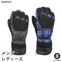 【送料無料】スキー グローブ スノーボード グローブ レディース メンズ VAXPOT(バックスポット) スノーボードグローブ スキーグローブ VA-3956【<strong>防水</strong> 透湿 耐水 撥水 加工 Thinsulate 中綿 入り <strong>手袋</strong> スノボ スノーグローブ】[返品交換不可]