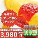 [砂糖不使用] 驚異!!トマトの素材味 トマトケチャップ400g×4本 化学調味料 無添加 手