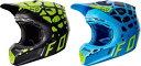 SALE FOX フォックス V3 Grav Helmet 2017モデル オフロード モトクロス ヘルメット アウトレット ワケあり【黒黄】【青】【AMACLUB】