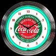 コカ・コーラ ネオン クロック レトロ 壁掛時計