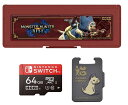 ショッピングモンスターハンターライズ モンスターハンターライズ マイクロSDカード + カードケース6 for Nintendo Switch 64GB
