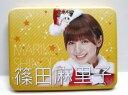 AKB 缶ケース マグネット付き 篠田麻里子 新品