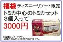 福袋 ディズニーリゾート限定トミカ中心のトミカセット 3個入って3000円