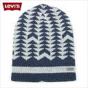LEVI'S リーバイス ニット帽 ニットキャップ メンズ レディース LEVIS (ネイビー)ファ...