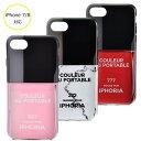アイフォリア IPHORIA Mirror Case Orange Pink Iced-L I PHONE 7/8ケース アイフォン7/8ケース スマホケース 14051 0001【AWSALE】