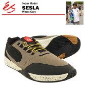 エス セスラ ワームグレー スケート スケーター スニーカー (es SESLA)