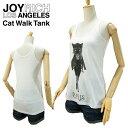 ジョイ リッチ キャット ウォーク タンク オフホワイト (JOY RICH CAT WALK TANK タンクトップ レディース 女性用 ジョイリッチ)