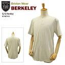 ブリクストン バークレー S/S ヘンリーネック Tシャツ オフホワイト (Brixton BERKELEY S/S Henley) 【あす楽対応】【楽ギフ_包装】【あす楽_土曜営業】