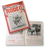 VINTAGE LEVI''S RODEO PROGRAM 1954 ヴィンテージ リーバイス ロデオ オフィシャルプログラム 【中古】