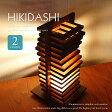 【送料無料】 テーブルライト ■HIKIDASHI   HD-101 HD-201■ 木工作家のハンドメイドの間接照明 お引越しのお祝いにもおすすめ 【Flames フレイムス】