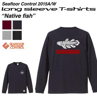 海層支配朗T Native Fish當地人魚SEAFLOOR CONTROL rongusuribu T恤T-shirts