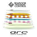 アーク 320g グロー 【 arc 】 ウェーブホロ 全4色シーフロアコントロール 《 SEAFLOOR CONTROL 》シーフロア コントロール SFC sea floor control スロージギング メタルジグ レギュラー カラー
