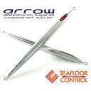 アロー 290g シルバー【 arrow 】シーフロアコントロール 《 SEAFLOOR CONTROL 》ジギング メタルジグ シルバー グレイン アルミ