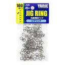 YARIE : ヤリエJESPA ( ジェスパ )ジグリング #3 200LB 100個入り丸軸溶接タイプアシストフック用溶接リング no.535ジギング リング