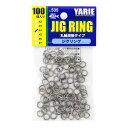 YARIE : ヤリエJESPA ( ジェスパ )ジグリング #4 250LB 100個入り丸軸溶接タイプアシストフック用溶接リング no.535ジギング リング