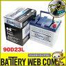 送料無料 90D23L アームカバー付き 自動車 用 バッテリー 2年保証 アトラス プレミアム NF90D23L 発電制御 ECO 55D23L 60D23L 65D23L 75D23L 80D23L 85D23L 互換