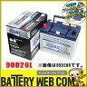 あす楽 送料無料 90D26L アトラス 自動車 用 バッテリー 2年保証 プレミアム NF90D26L プレゼント付き 発電制御 ECO 75D26L 65D26L 75D26L 80D26L 85D26L 互換