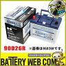 あす楽 送料無料 90D26R アームカバー付き 自動車 用 バッテリー 2年保証 アトラス プレミアム NF90D26R 発電制御 ECO 75D26R 65D26R 75D26R 80D26R 85D26R 互換