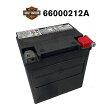 送料無料 HD66010-97C HD ハーレー ダビットソン 純正 AGM 高性能 バイク バッテリー 6ヶ月保証 66010-97C 97-UP FLHRFLHTFLTR HD66010ー97C