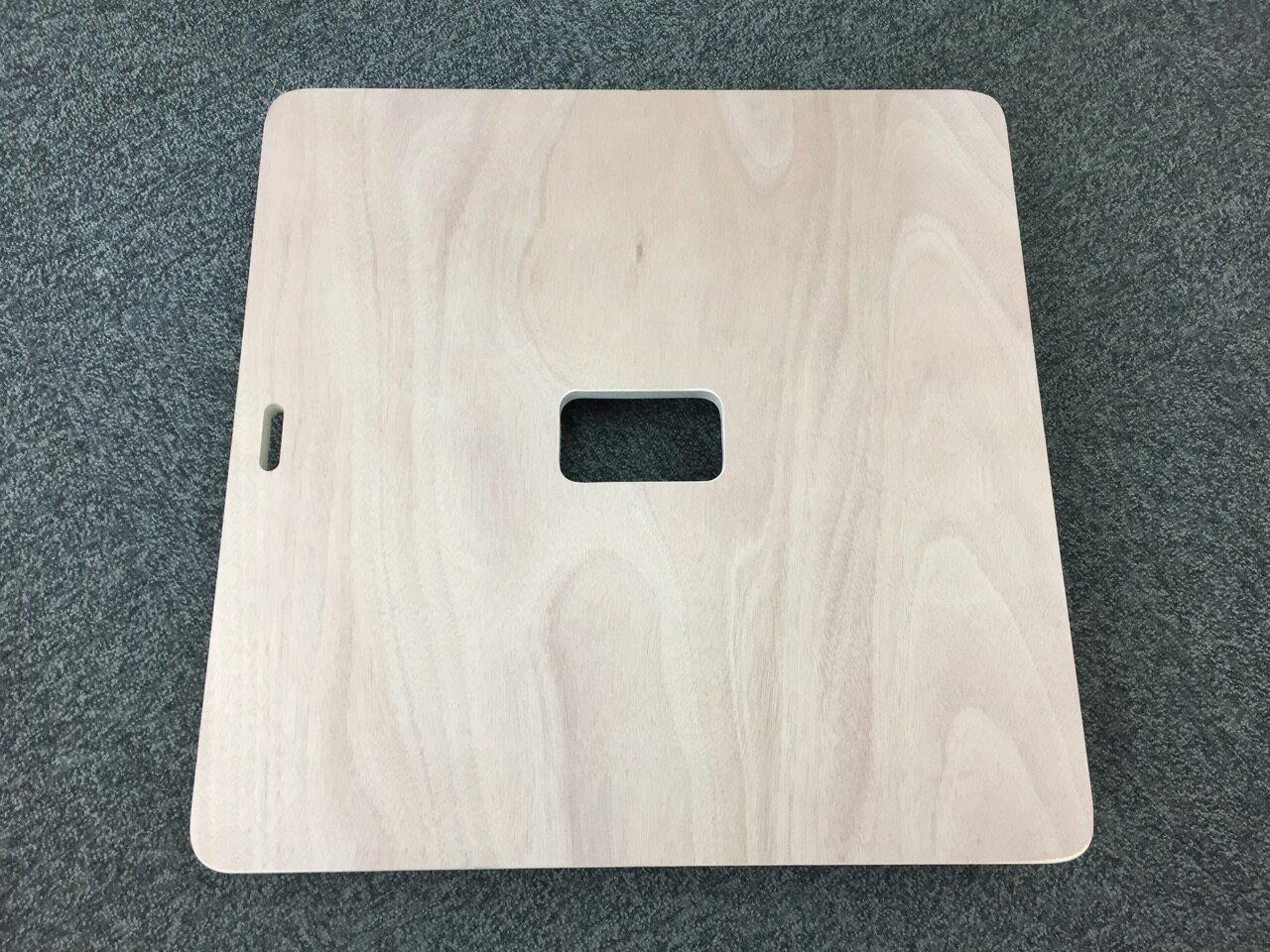 :アマカム 平台車 木製 60×60cm 正方形