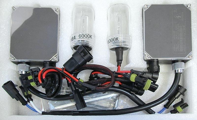 12V用HIDコンバージョンキットH4 Lo 6000kハイグレードタイプ