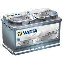 VARTA バルタ 580-901-080 SILVER DYNAMIC シルバーダイナミック 欧州車用 バッテリー AGMバッテリー