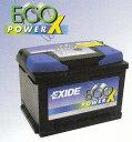 EXD-EPX55 エキサイド 自動車 用 バッテリー 2年...