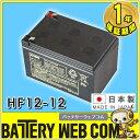 日本製 国産 HF12-12 日立 ( 新神戸電機 )小型制御弁式鉛蓄電池 バッテリー UPS 無停電電源 CATV 防災 防犯システム機器 非常 灯 HF12ー12