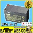 日本製 国産 HP6.5-12 日立 日立化成 ( 新神戸電機 ) 小型制御弁式鉛蓄電池 バッテリー UPS 無停電電源 防災 搬送 防犯システム機器 非常 灯 太陽光 ソーラー 発電 HP6.5ー12