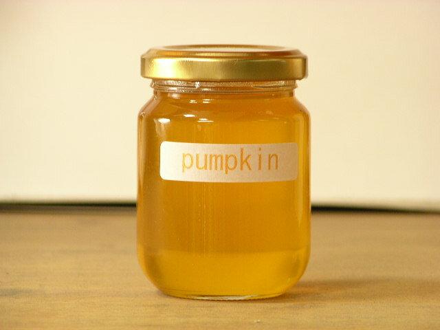 アカシアのようなあっさり風味!かぼちゃはちみつ125g入り(pumpkin)