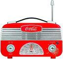 コカ・コーラ AM/FMラジオ Coca-Cola CCR01 レトロスタイル